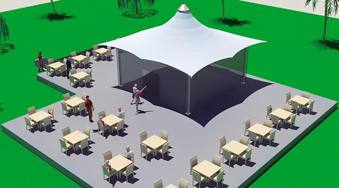 Tensile Fabric Modular Structure Roof Manufacturers